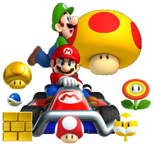 Mario And Luigi.PNG - Mario And Luigi PNG