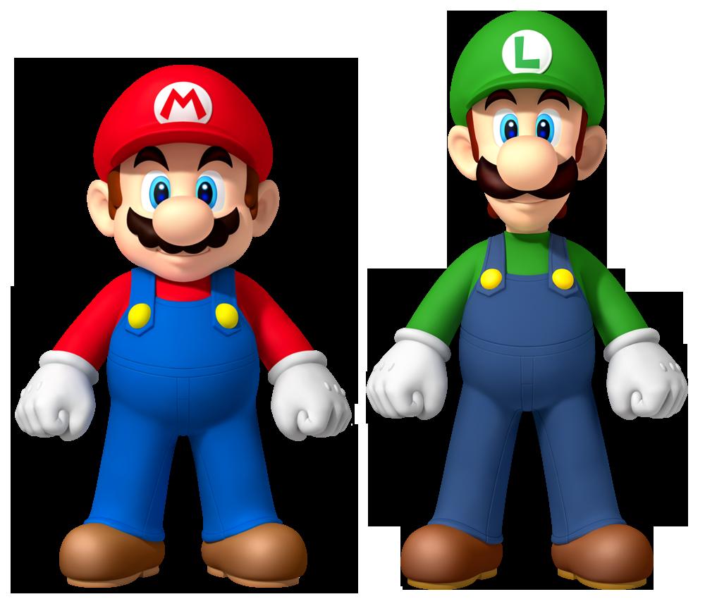 Mario and Luigi by Legend-ton