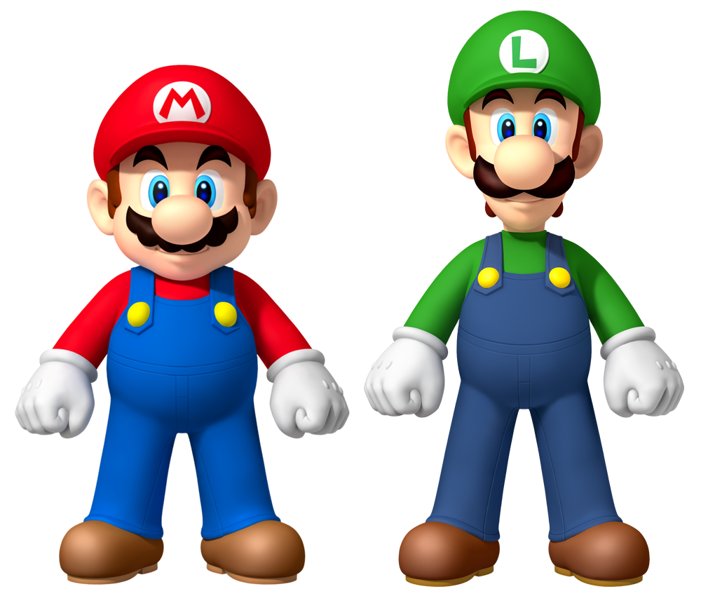 Mario And Luigi PNG - 88706
