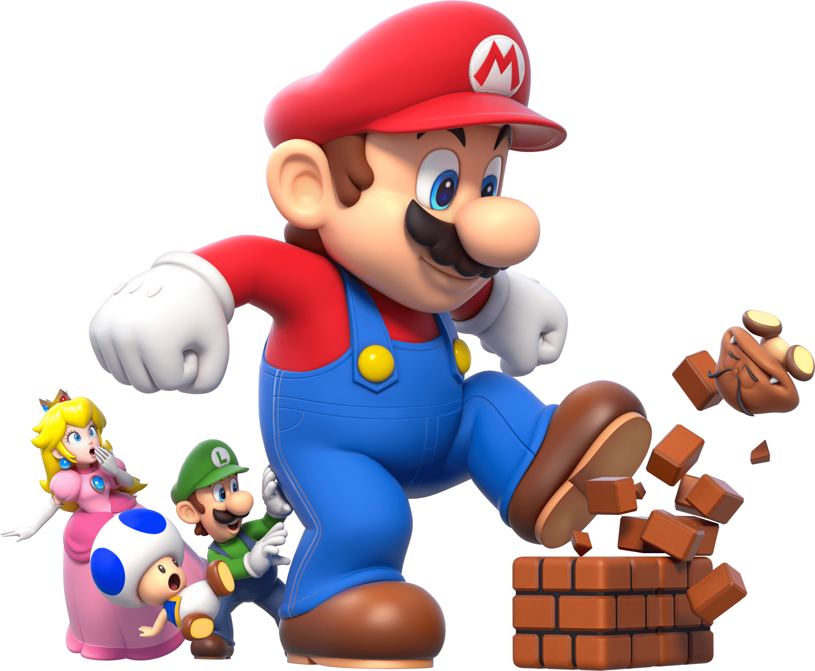 games · new super mario bros - Mario Bros PNG