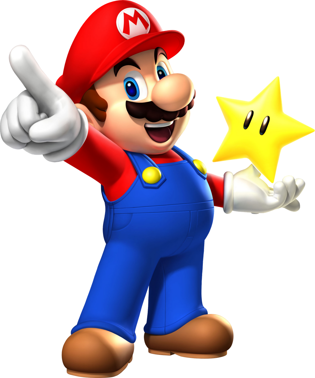 The Super Mario Fan Club images Mario with star HD wallpaper and background  photos - Mario Bros PNG
