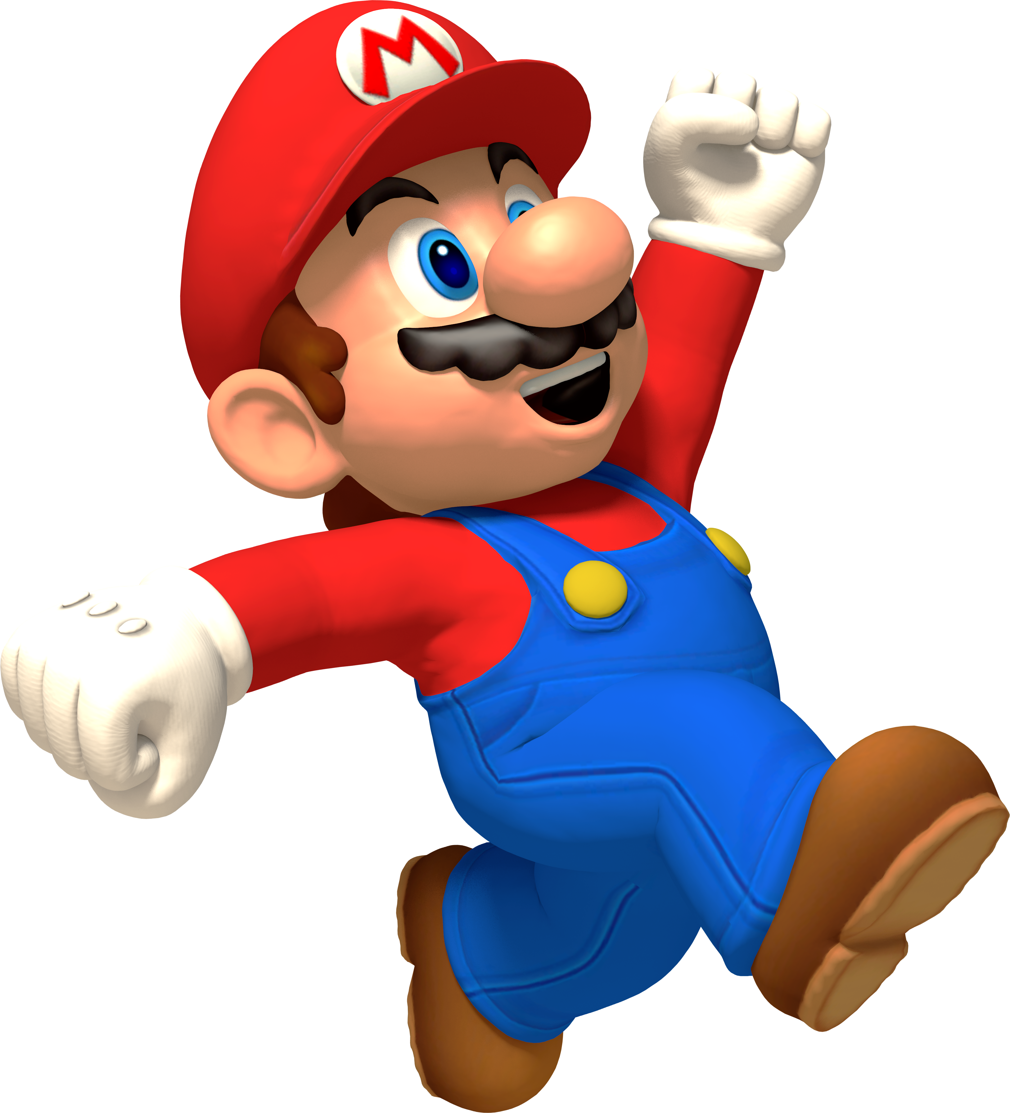 . PlusPng.com Hi-Res Mario Render by MaxiGamer - Mario HD PNG