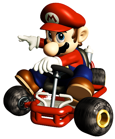File:Mario HD.png - Mario Kart PNG HD
