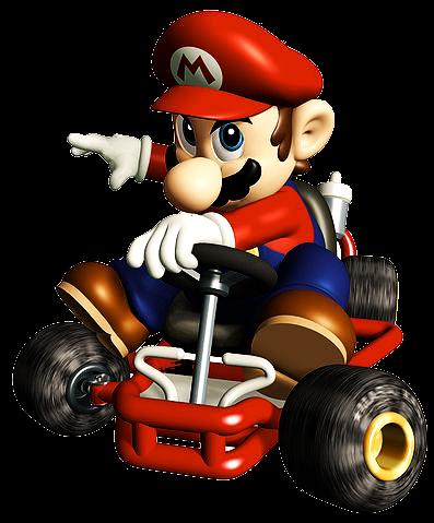 Mario Kart PNG HD - 128528