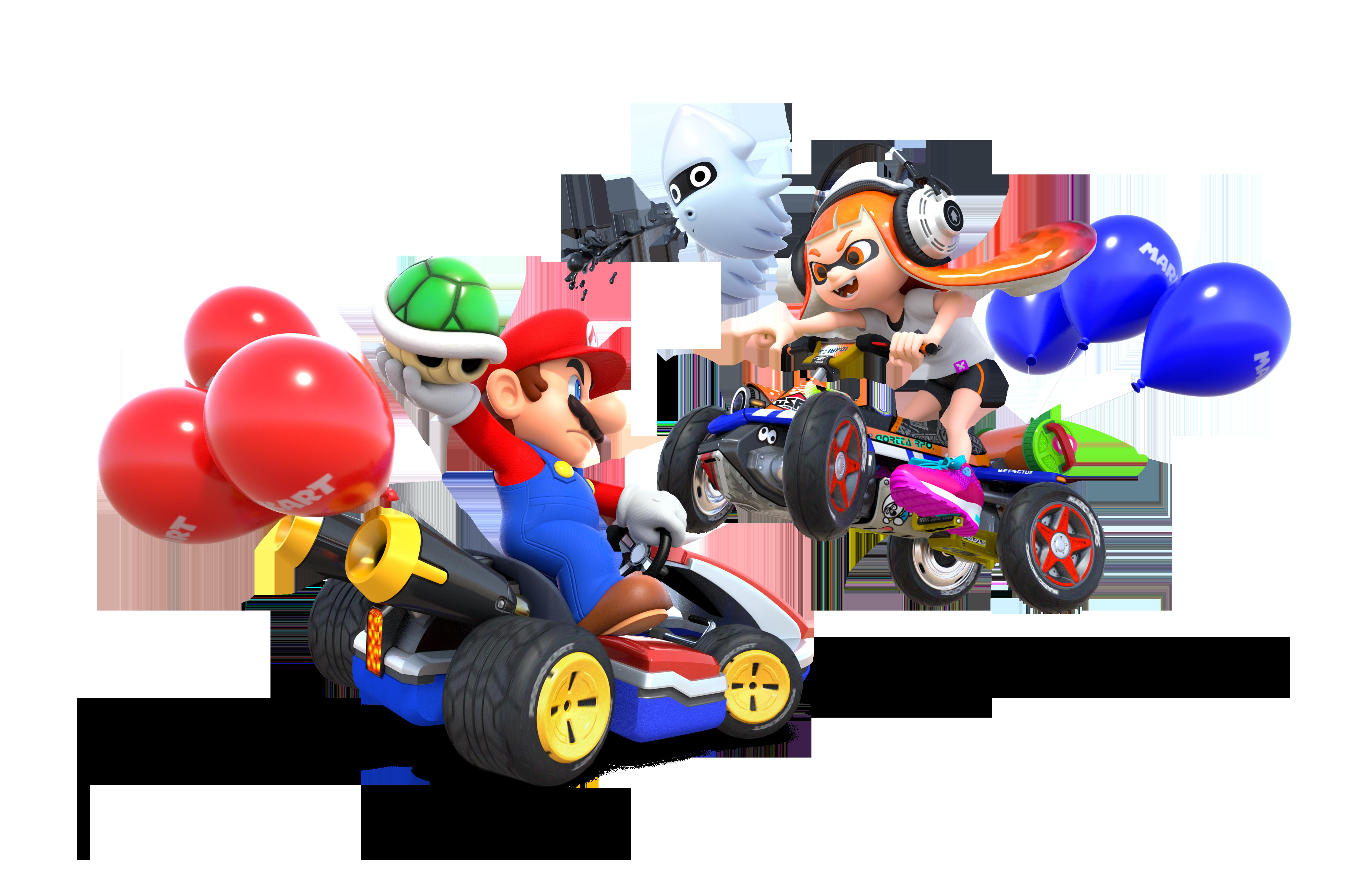 Mario Kart PNG HD - 128529