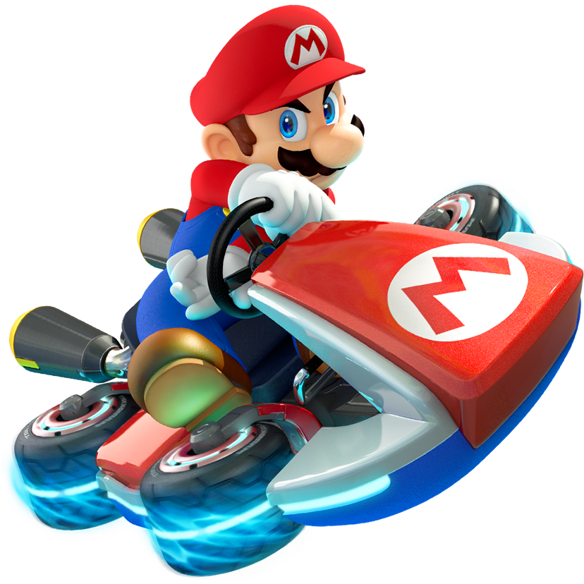 Mario Kart PNG HD - 128516