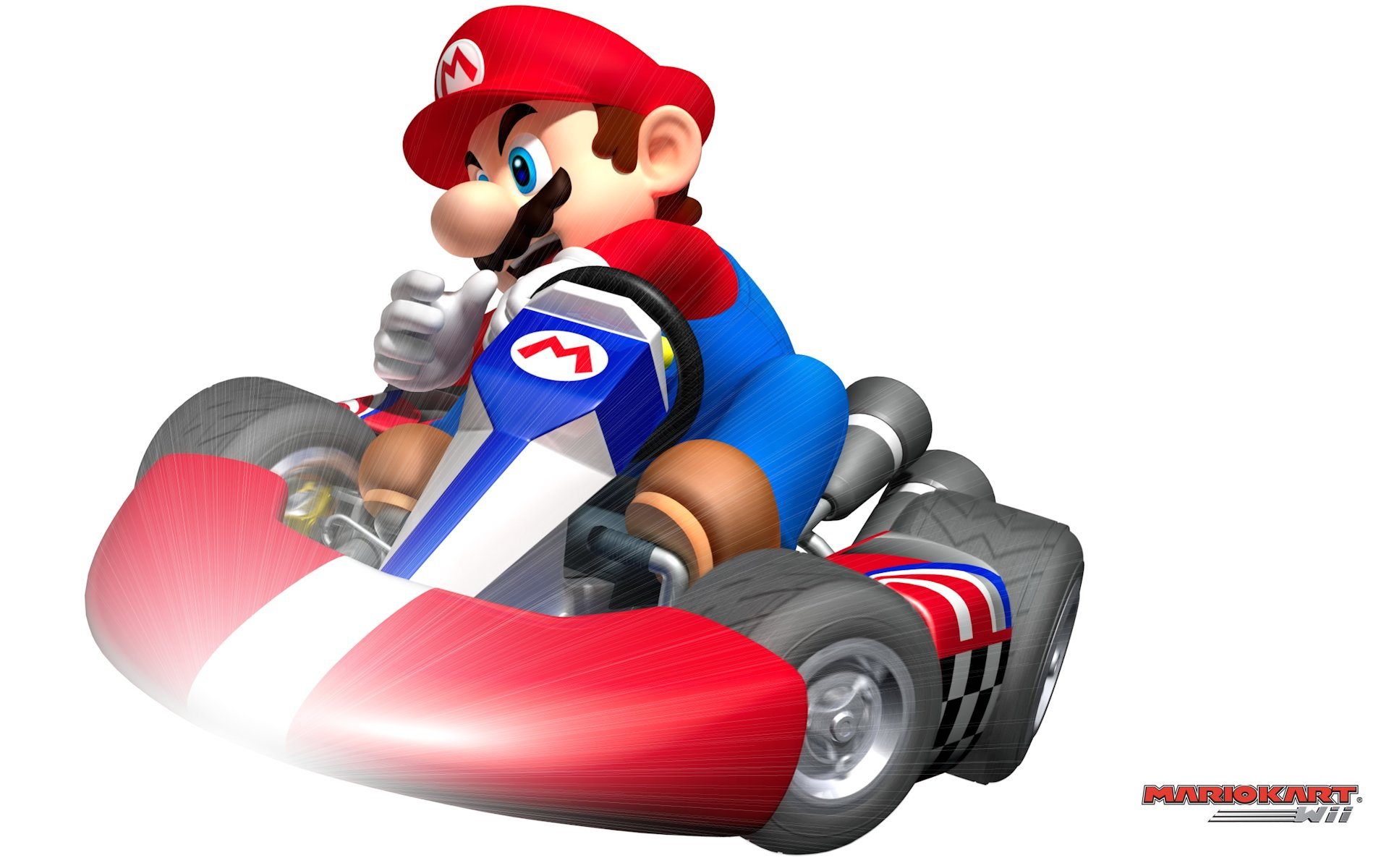 Mario Kart Wii Wallpaper by POOTERMAN PlusPng.com