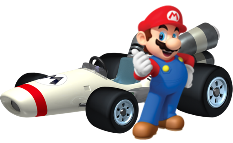 Super Mario Kart PNG HD