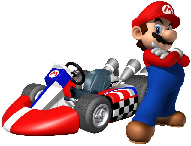 Tournament prize to promote the Nintendo Wii Mario Kart video game. - Mario Kart PNG HD