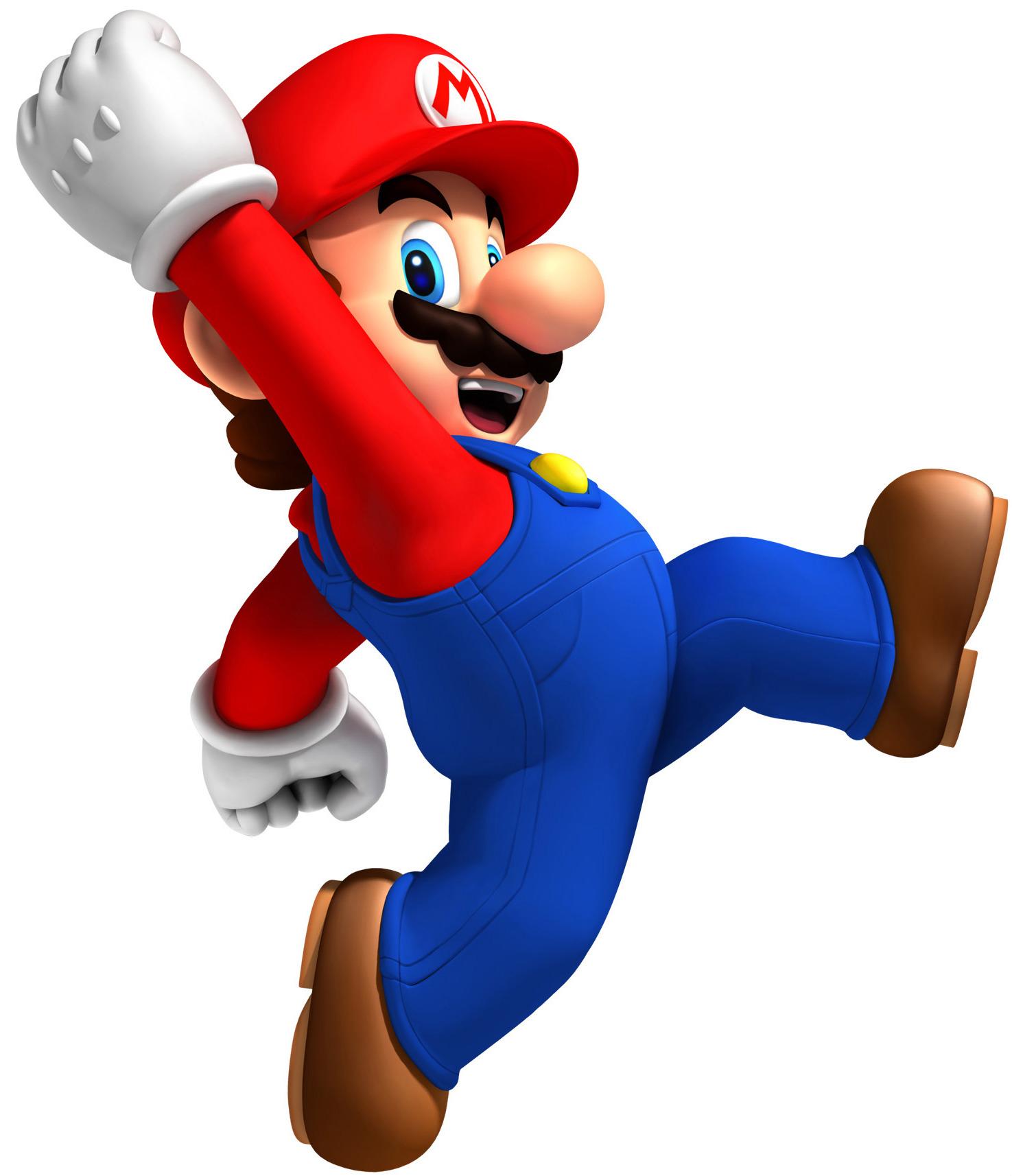 Full resolution PlusPng.com  - Mario PNG