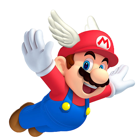 wing-cap-mario.png (480×480) - Mario PNG