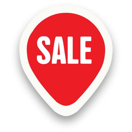 Marker oval sale sticker - Sale PNG