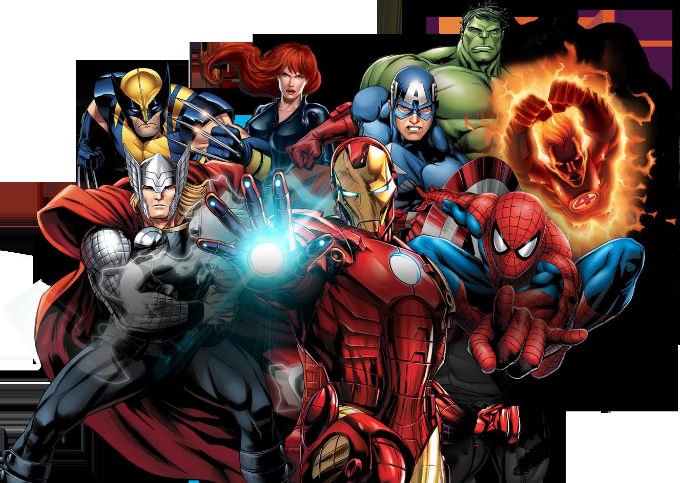 Marvel PNG-PlusPNG.com-1327 - Marvel PNG