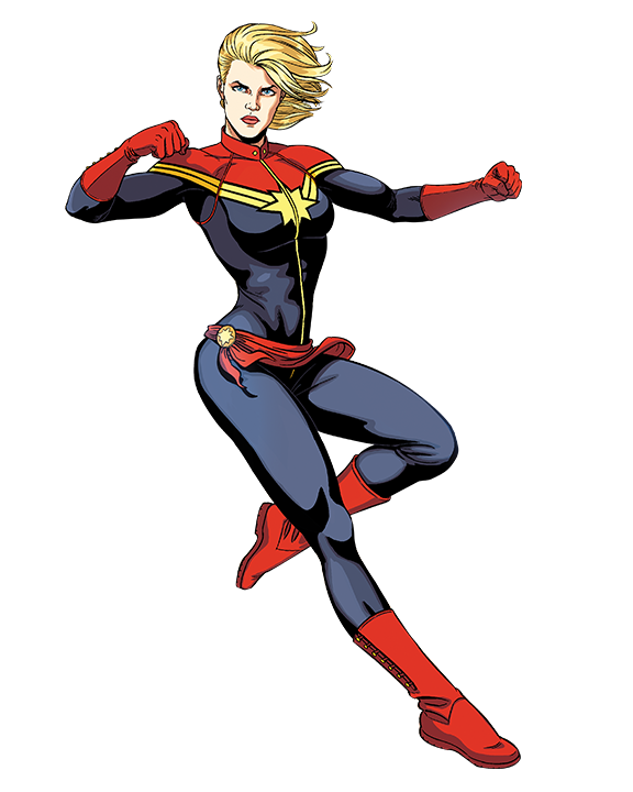 Captain Marvel PNG Pic