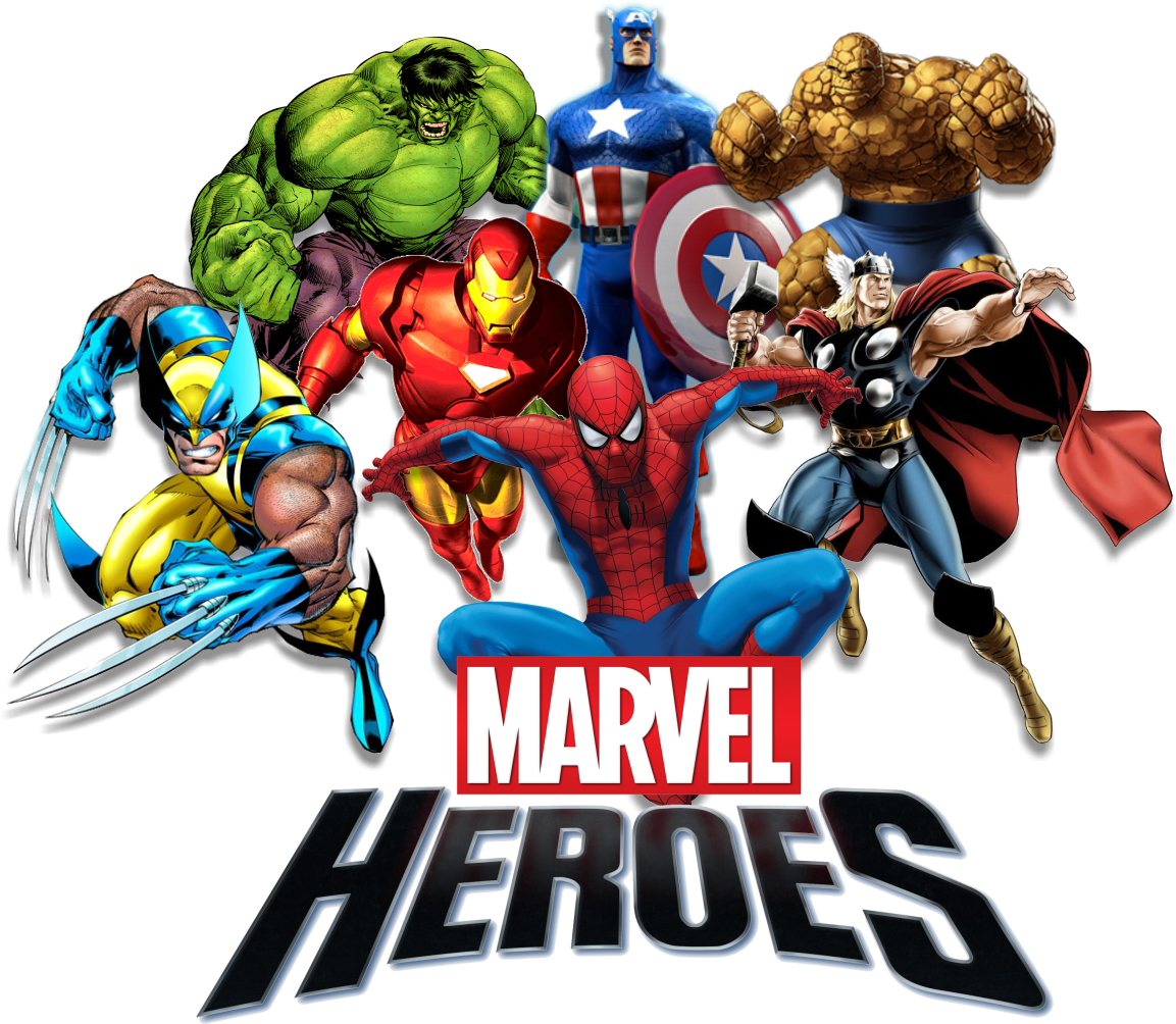HQ Marvel PNG Transparent Marvel.PNG Images. | PlusPNG