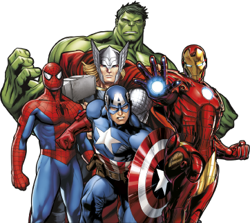 marvel_characters_02.png - Marvel PNG