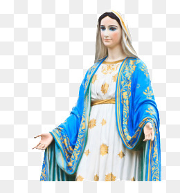 The Virgin Mary, West, Idol, Bless PNG Image - Mary HD PNG