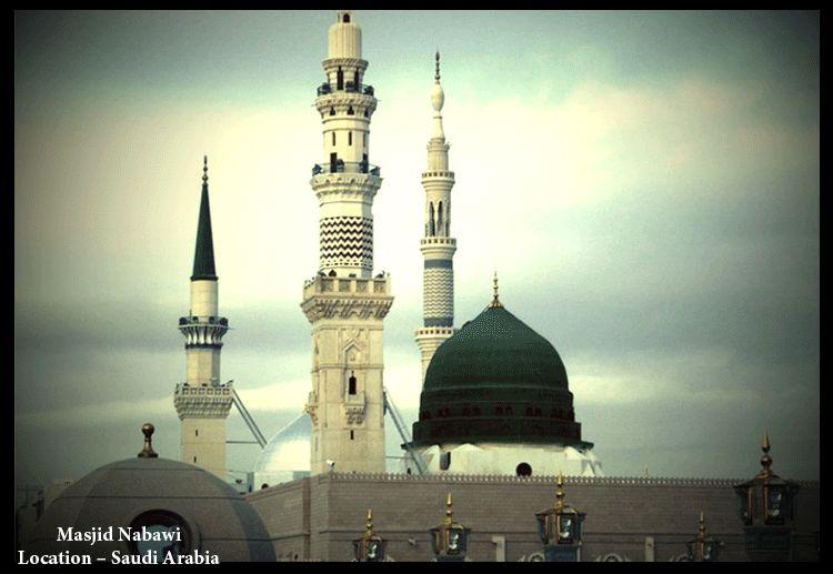 Beautiful Masjid e Nabvi - Masjid E Nabvi PNG