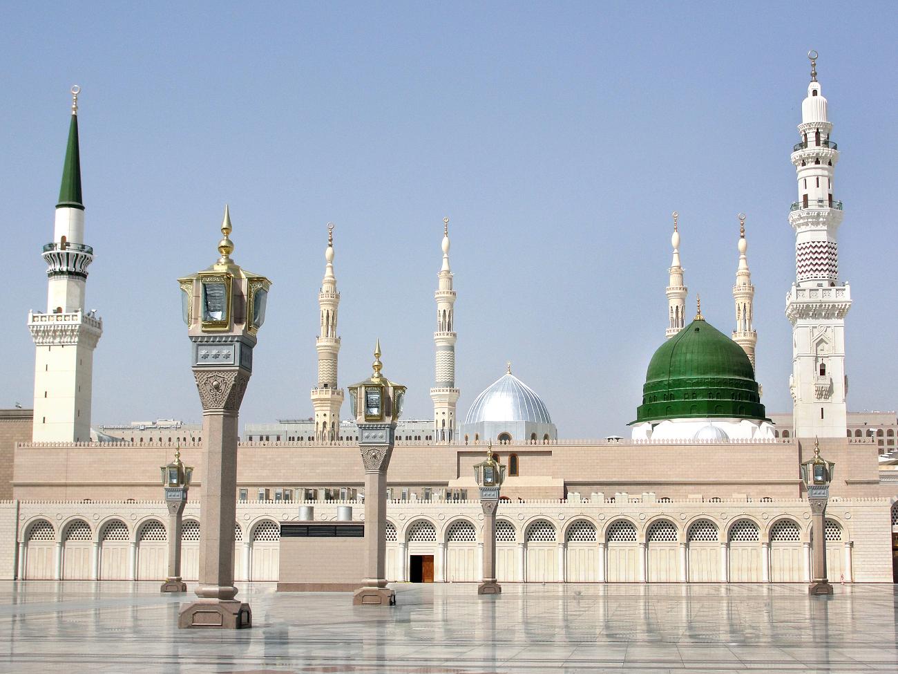 Mosque of the Prophet Muhammad Sallallahu alaihi wa sallam Madinah - Masjid Nabawi PNG