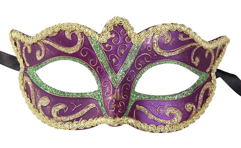 Masquerade clipart red #3