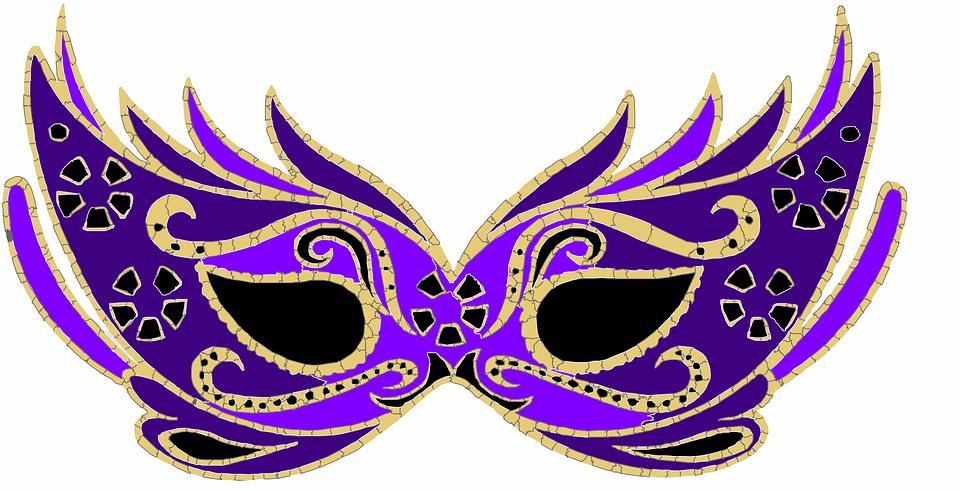 Masquerade Mask PNG HD - 130303