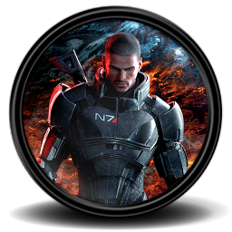 128x128 px, Mass Effect 3 7 Icon 256x256 png - Mass Effect PNG