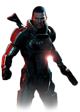 File:Mass Effect 3 Shepard.png - Mass Effect PNG