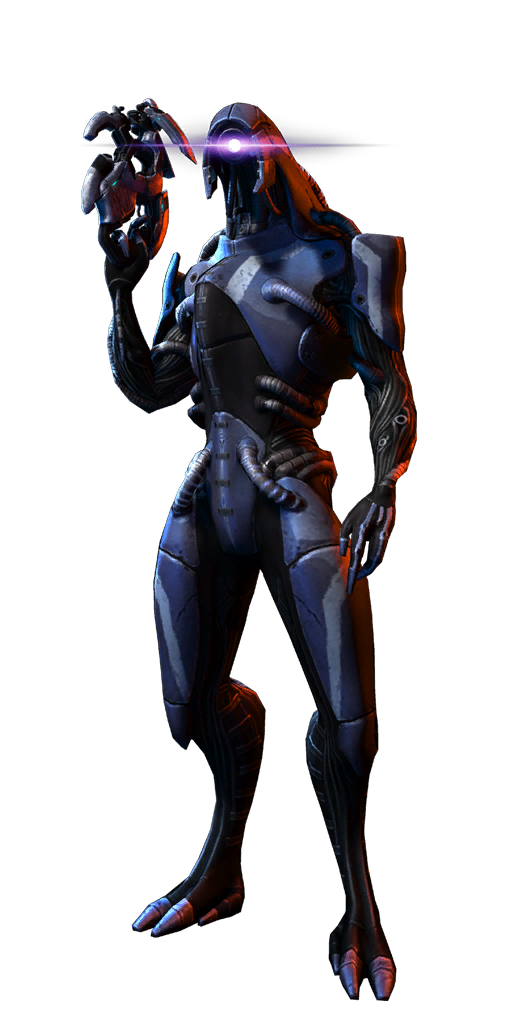 Geth Engineer MP.png - Mass Effect PNG