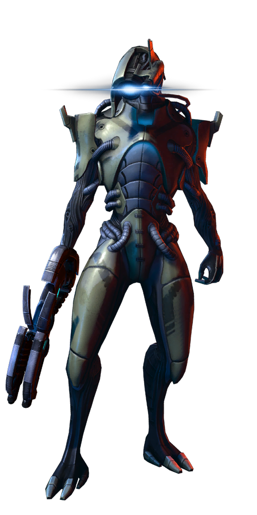 Geth Infiltrator MP.png - Mass Effect PNG