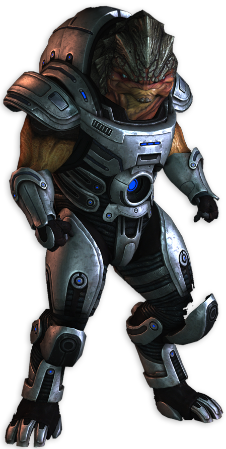 Grunt.png - Mass Effect PNG
