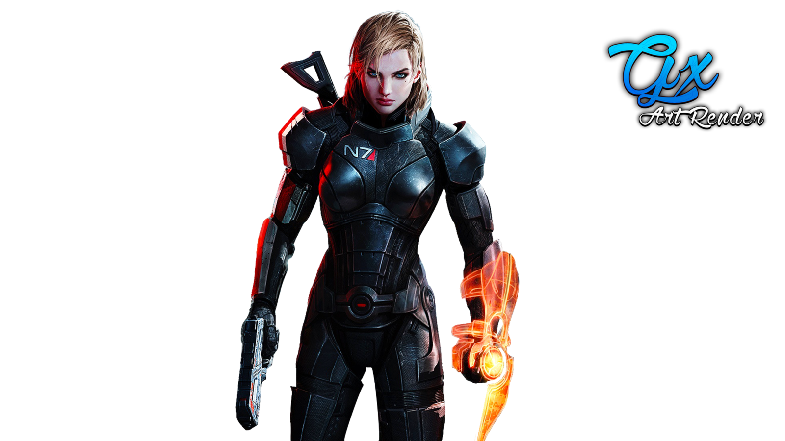 . PlusPng.com Mass Effect 3 Jane Shepard by GaXxBR - Mass Effect PNG