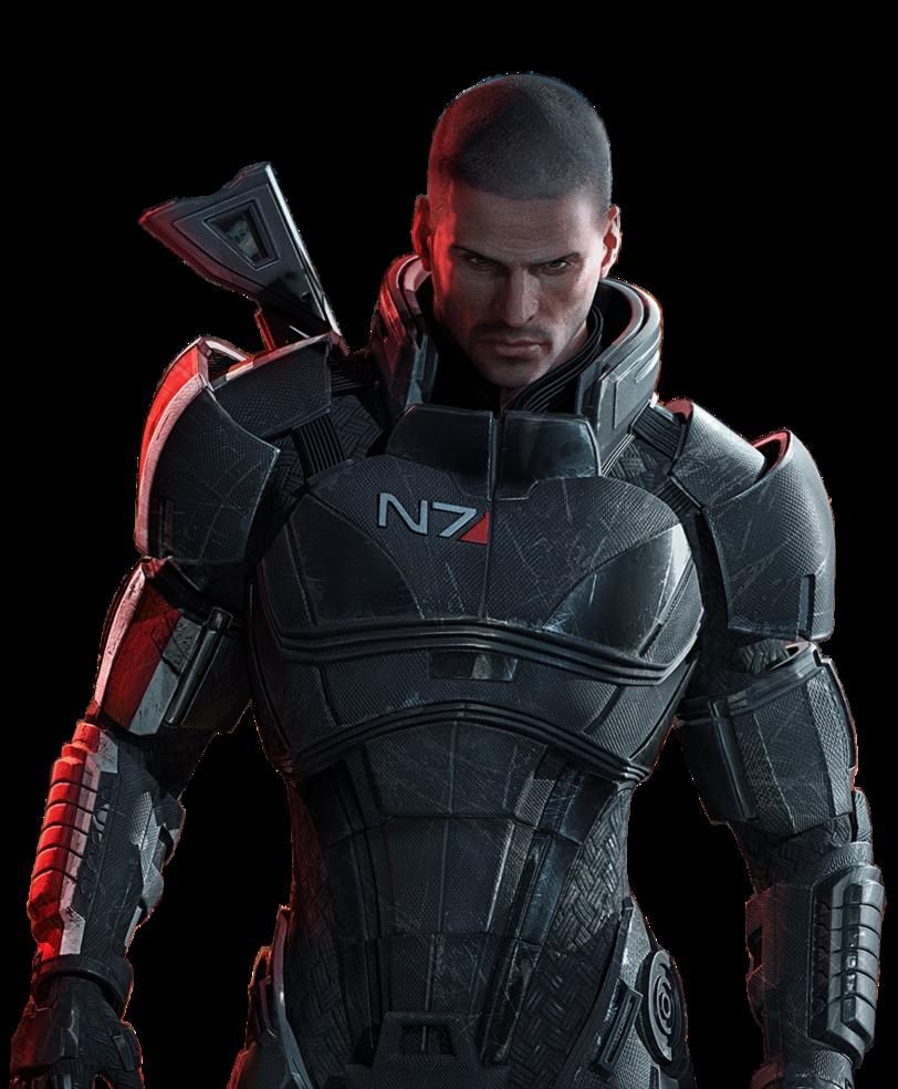 Shepard render.png - Mass Effect PNG