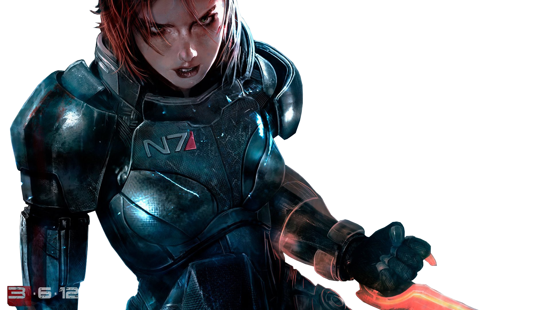 Video Game - Mass Effect 3 Commander Shepard Wallpaper - Mass Effect PNG