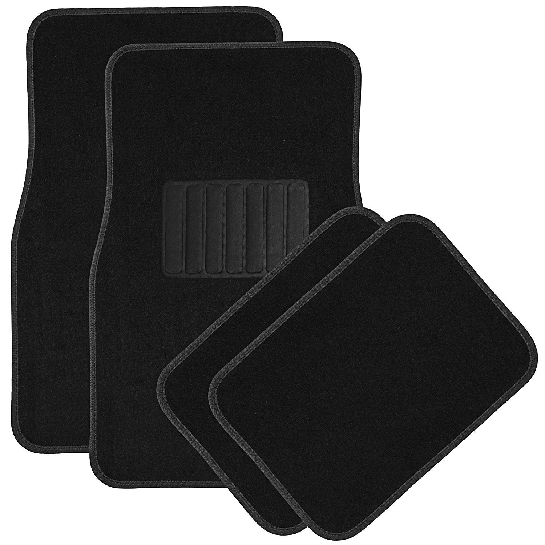 Amazon pluspng.com: OxGord Universal Fit Front/Rear 4-Piece Full Set Heavy Duty  Economy Carpet Floor Mat - (Black): Automotive - Mat PNG HD