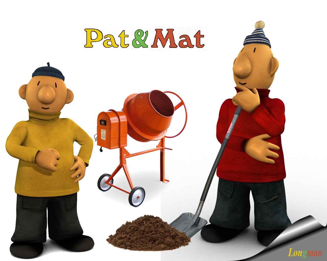 pat and mat images mat and pat HD wallpaper and background photos - Mat PNG HD