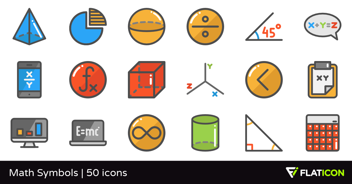 Math Symbols PNG-PlusPNG.com-1200 - Math Symbols PNG