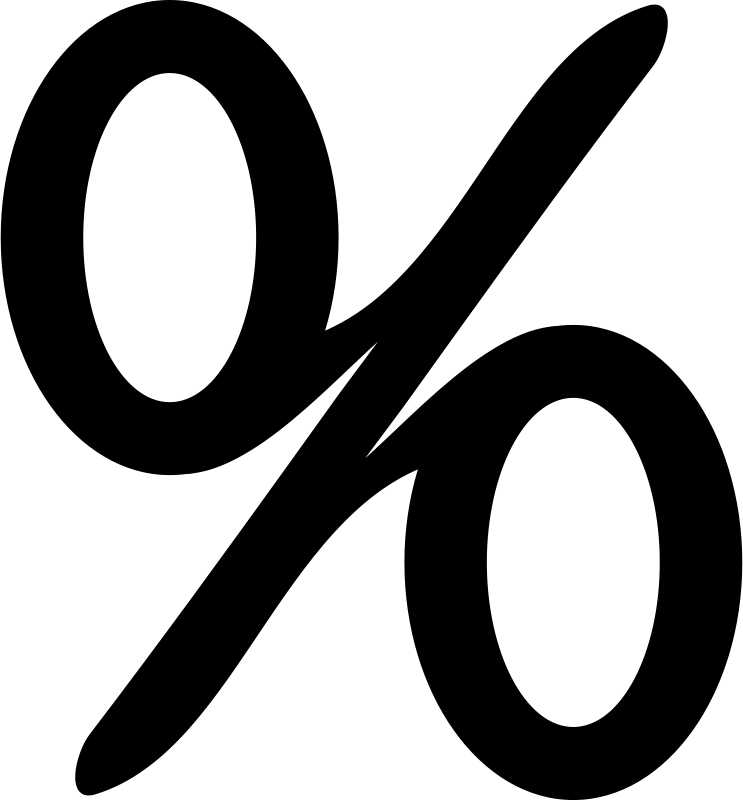 Math Symbols Clipart Black And White - Math Symbols PNG