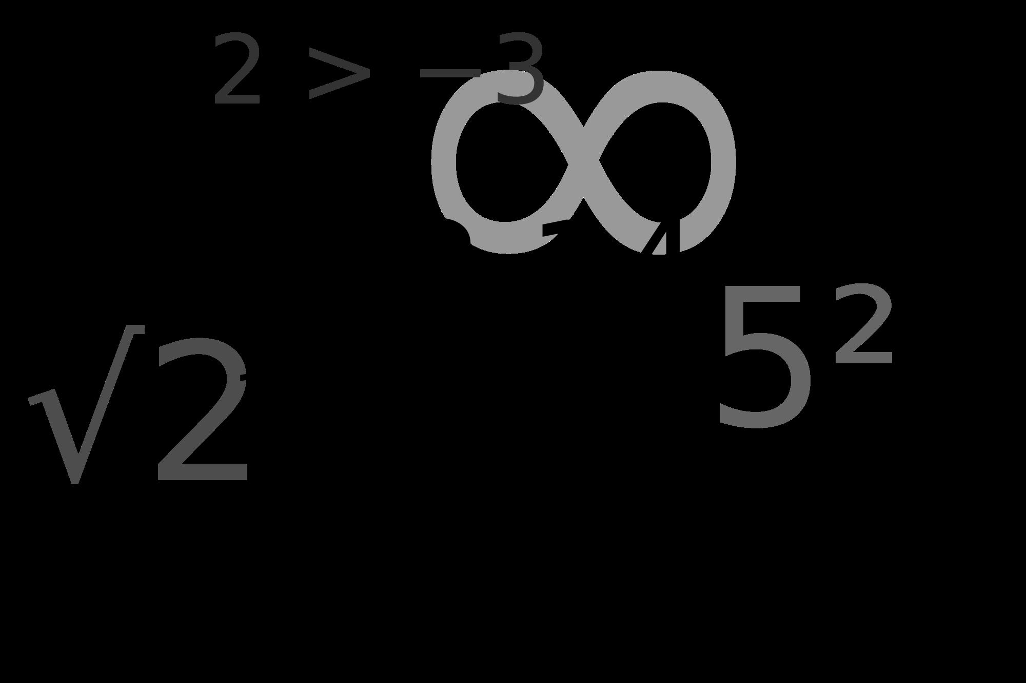 Math Symbols PNG - 59953