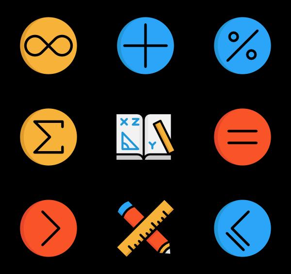 Math Symbols - Maths HD PNG