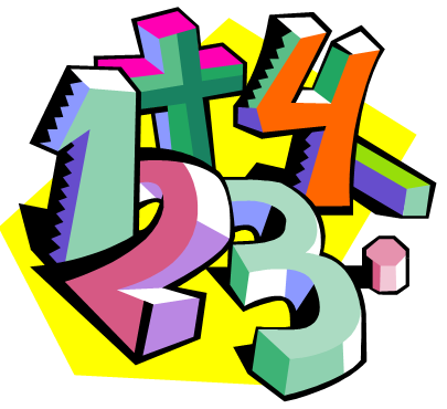 More Math Puzzles: numbers and operation signs - Maths Signs PNG
