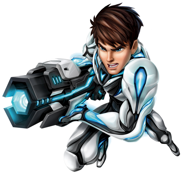 Max Steel PNG-PlusPNG.com-600 - Max Steel PNG