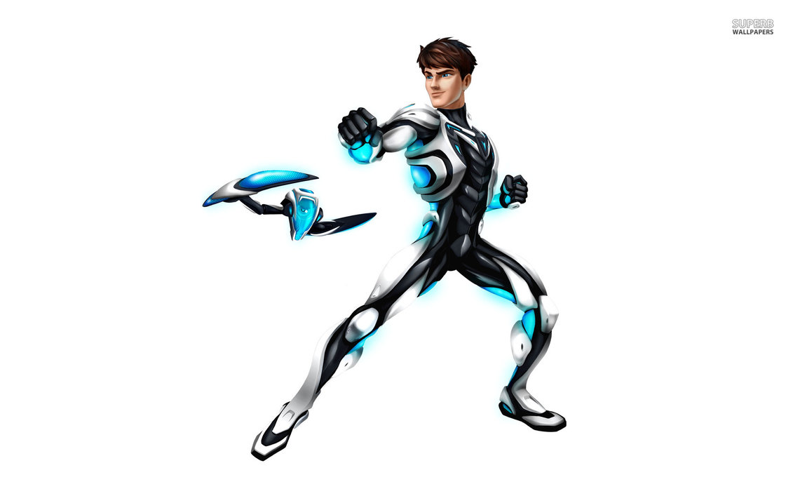 Hero Profile: Max Steel by AlphaOmegaBros PlusPng.com  - Max Steel PNG