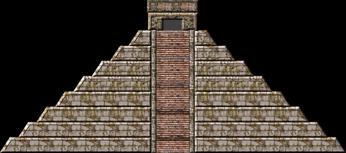 Mayan Pyramid PNG - 45436