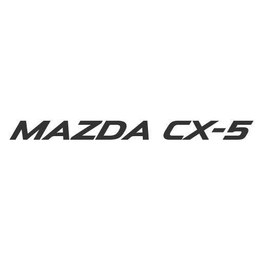 Mazda CX-3 logo vector .