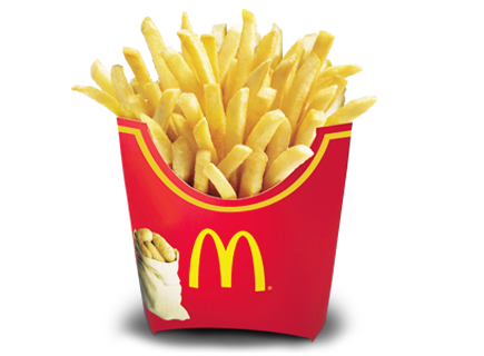 Fries - Mcdonalds French Fries PNG