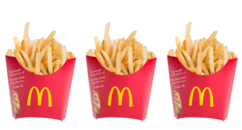 mcdonalds new fries - Mcdonalds Fries PNG