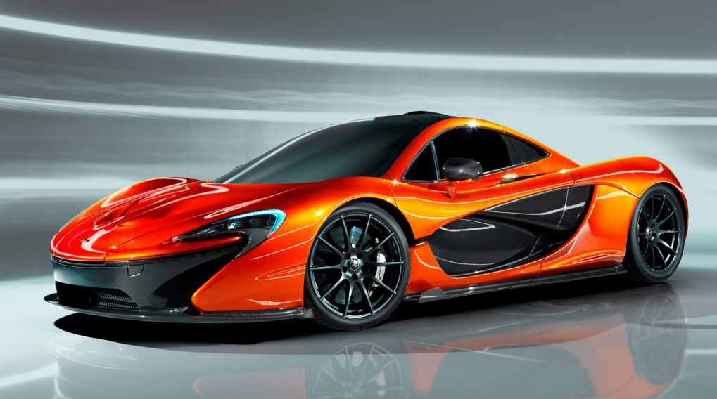 McLaren P1 production GTR rear side - Mclaren P PNG