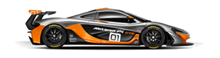 mclarenp1gtrside.png. McLAREN P1™ GTR - Mclaren P PNG