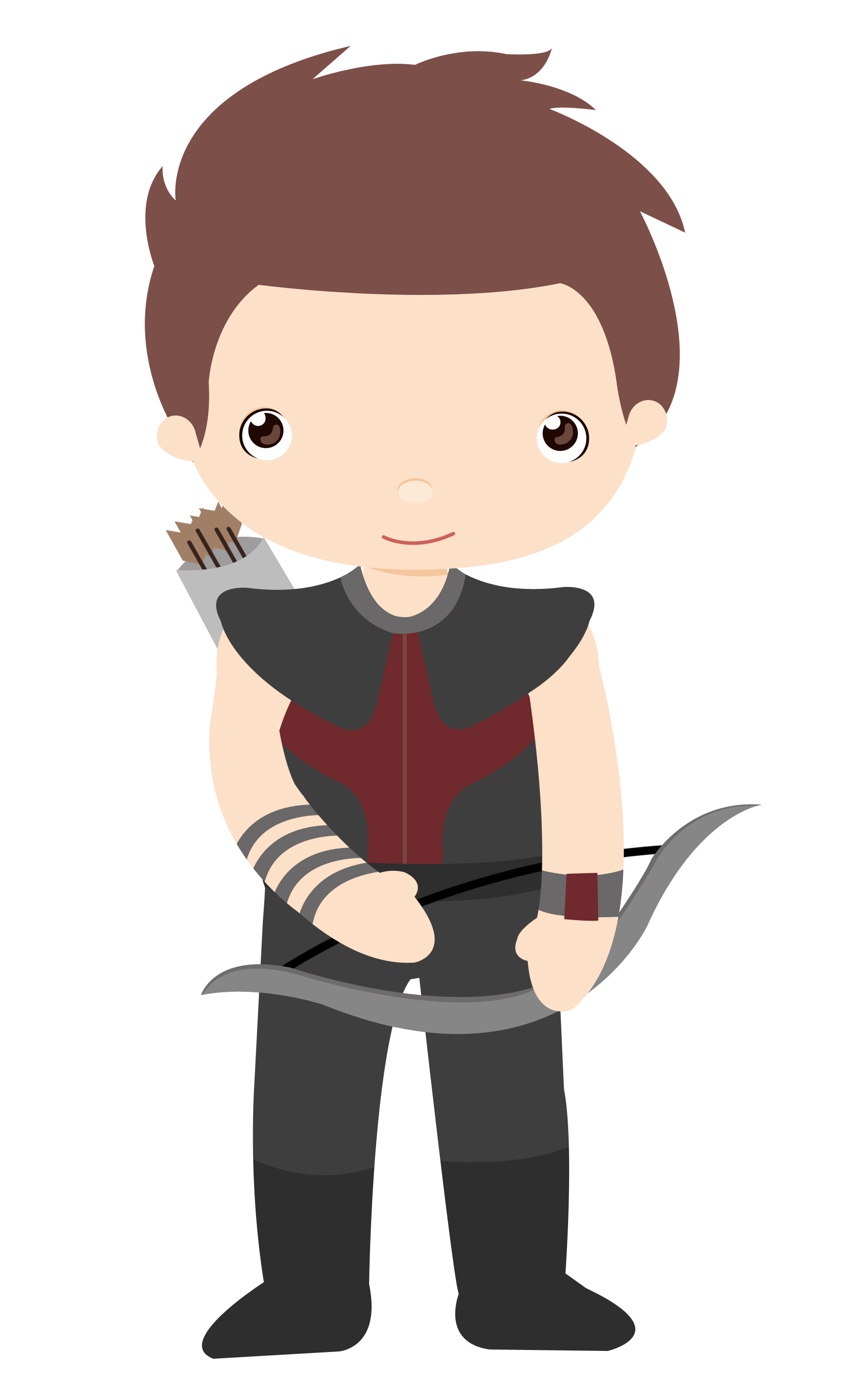 I mean Hawkeye - Mean Boy PNG