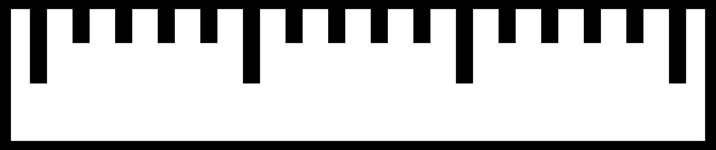 measure ruler clipart - Measurement PNG Ruler